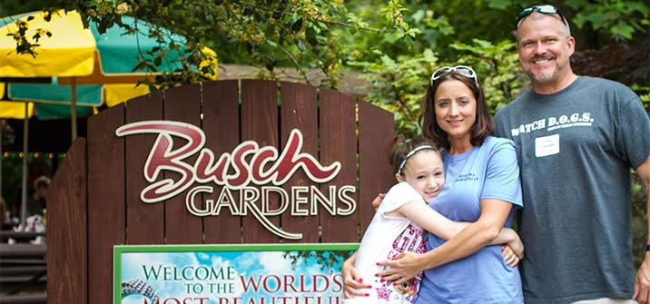 Annual Alumni Family Day at Busch Gardens