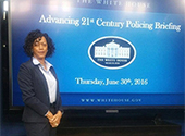 Chief Gilmore, DSL Student, Visits White House