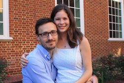 John and Corrie Mannion (CAS, '11 and '13)