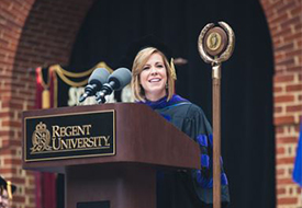Kristen Waggoner Selected for Regent's Alumna of the Year Award