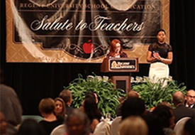 Recognizing Hundreds of Teachers of the Year
