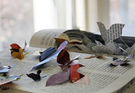 Book Art Exhibit Unfolds at Regent University Library