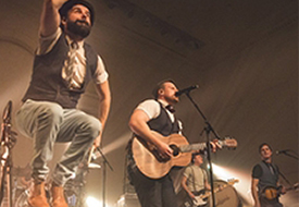 Rend Collective Visits Regent University's Night of Worship