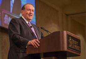 Mike Huckabee Opens Executive Leadership Series
