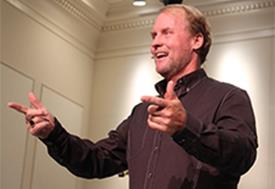 Steve Kelly Talks Leadership at University Chapel
